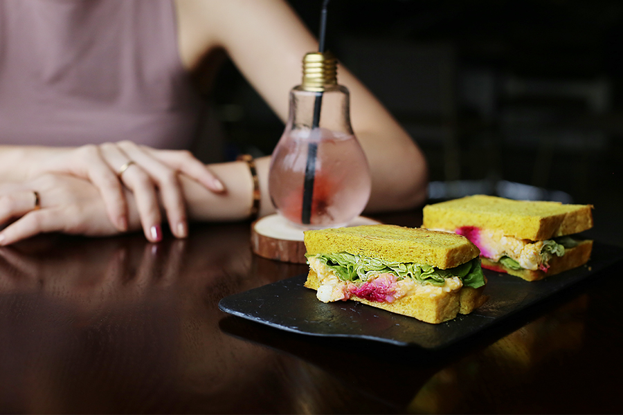 The Good Co. in Bangsar is a healthy, meat-free, clean-eating cafe in Kuala Lumpur popular for their cold-pressed juices, artisan sandwiches, smoothie bowls, and salad pots.