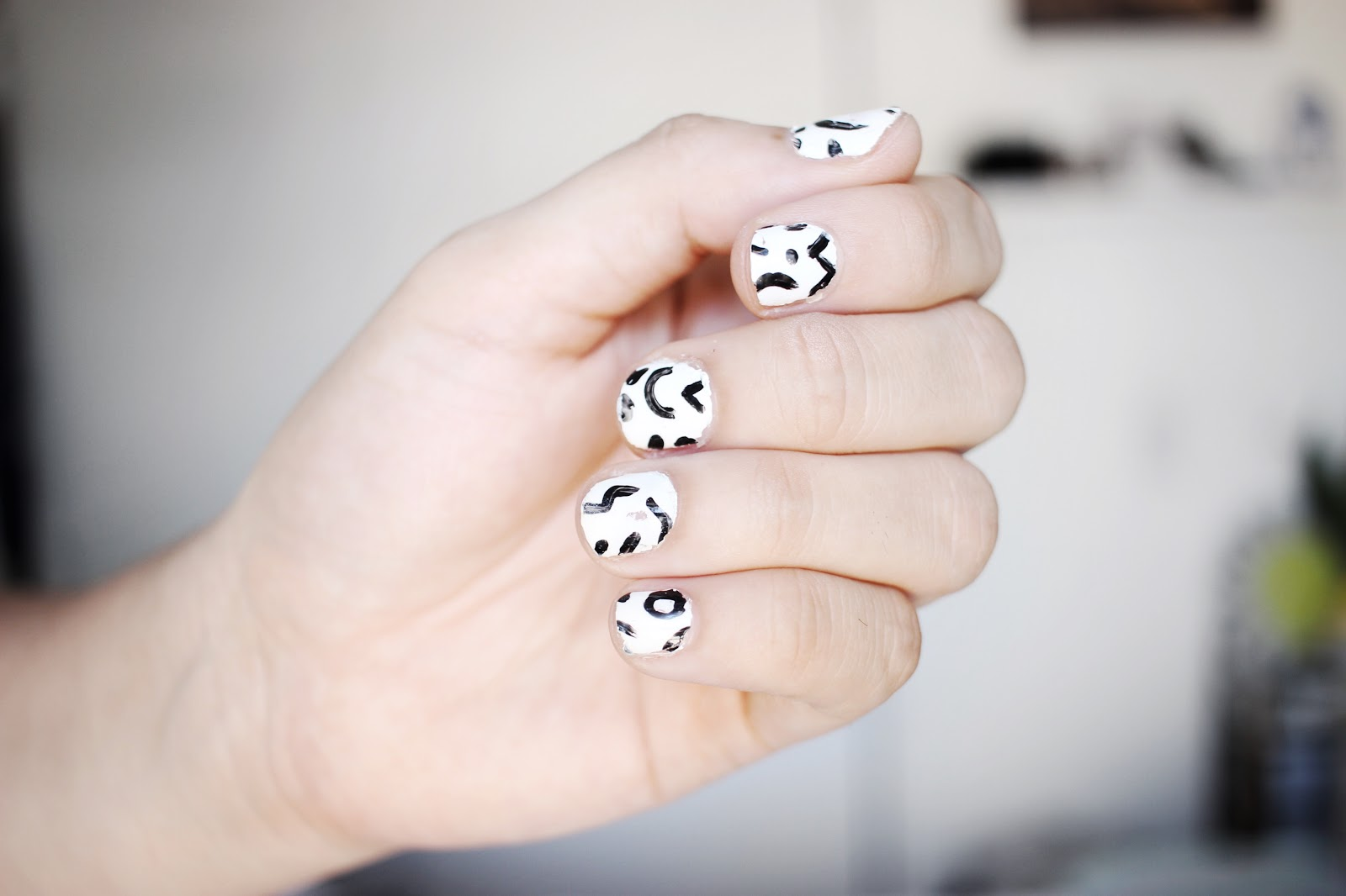Experimenting with DIY Nail Stickers | Laura Neuzeth