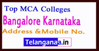 Top MCA Colleges in Bengaluru Karnataka