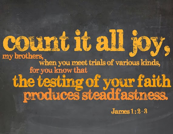 A Bend In The Road: Count It All Joy