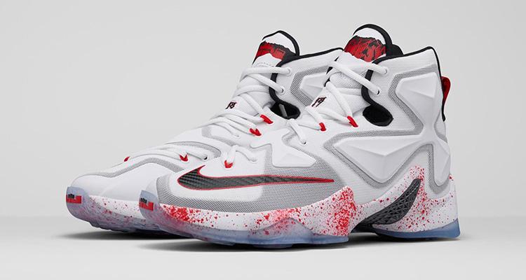 c7e6802997eb6 Nike Lebron 13 Friday the 13th