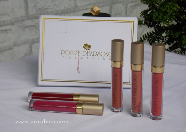 All Shade Poppy Dharsono Liquefied Matte Lip Color