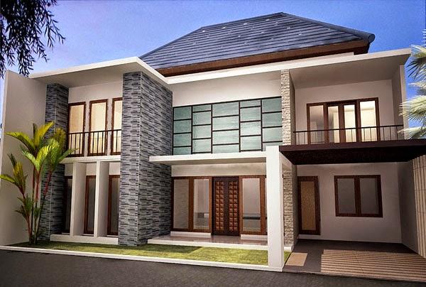 Desain Rumah Minimalis 3D Modern type 36 Terbaru