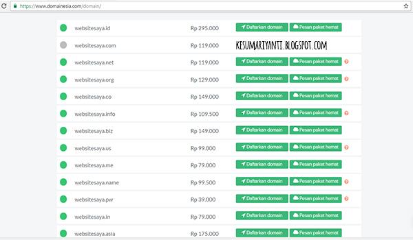 Hosting dan Domain Murah di Indonesia, Kreasikan dan Ciptakan Websitemu dengan DomaiNesia