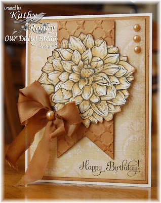 Our Daily Bread Designs, Dahlia, Birthday Blessings