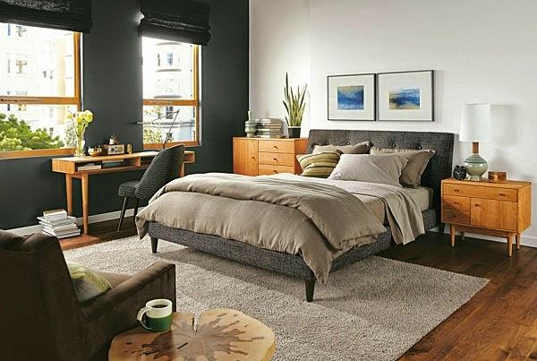 Schwarz Bett Stuhl Schreibtisch Schlafzimmer ~ Schlafzimmer ...