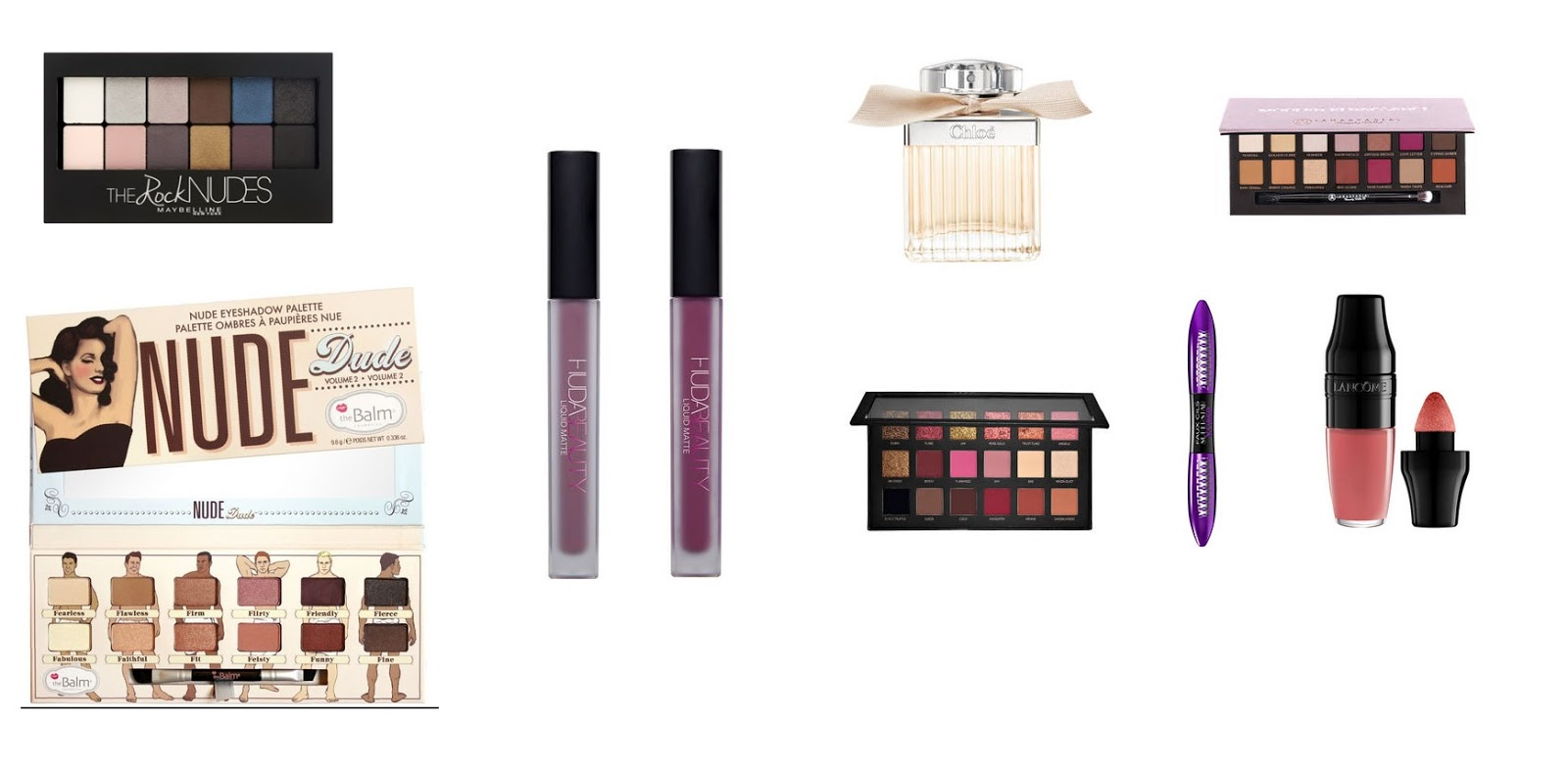 beauty and makeup wishlist spring 2017