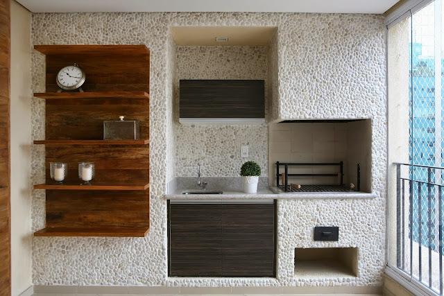 Famosos O Azulejista: Como decorar e revestir a churrasqueira e área gourmet. AU08