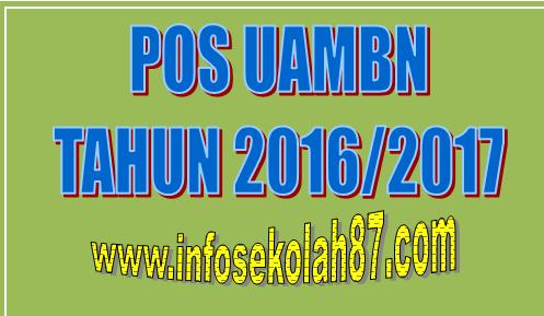 Pos Uambn Tahun Pelajaran 2016 2017 Info Seputar Madrasah
