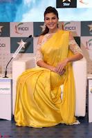 Gorgeous Jacqueline Fernandez  in yellow saree 48.JPG