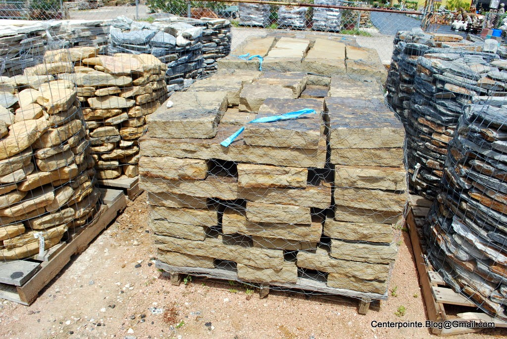 Centerpointe Communicator Stacked Stone Landscaping Part 1
