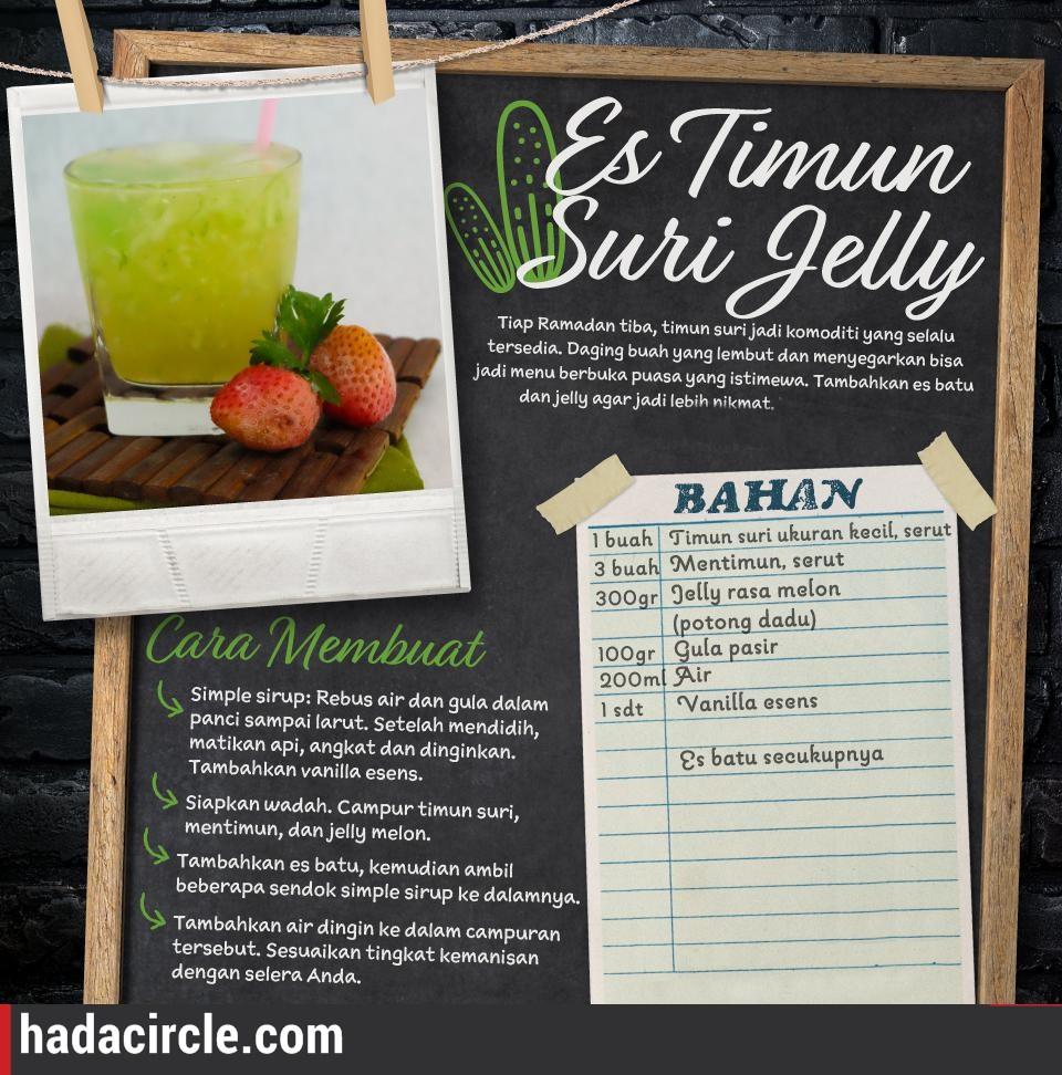 Resep Es Timun Suri Jelly