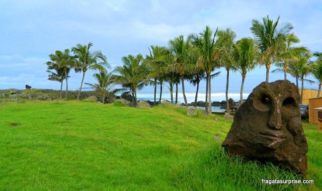 Moai na Ilha de Páscoa