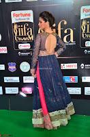 Raai Laxmi in Beautiful Backless Designer Anarkali Gown at IIFA Utsavam Awards 2017  Day 2  Exclusive 10.JPG