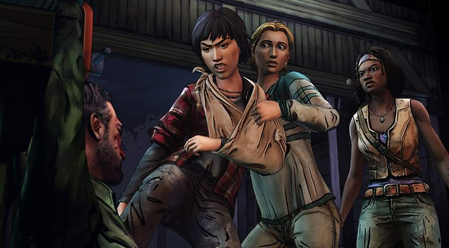 The Walking Dead: Michonne - A Telltale Miniseries pc full español