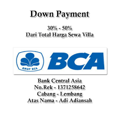 Down Payment Sewa Villa Istana Bunga