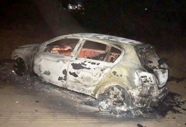 Chapada: Carro pega fogo após apresentar curto-circuito elétrico em Livramento