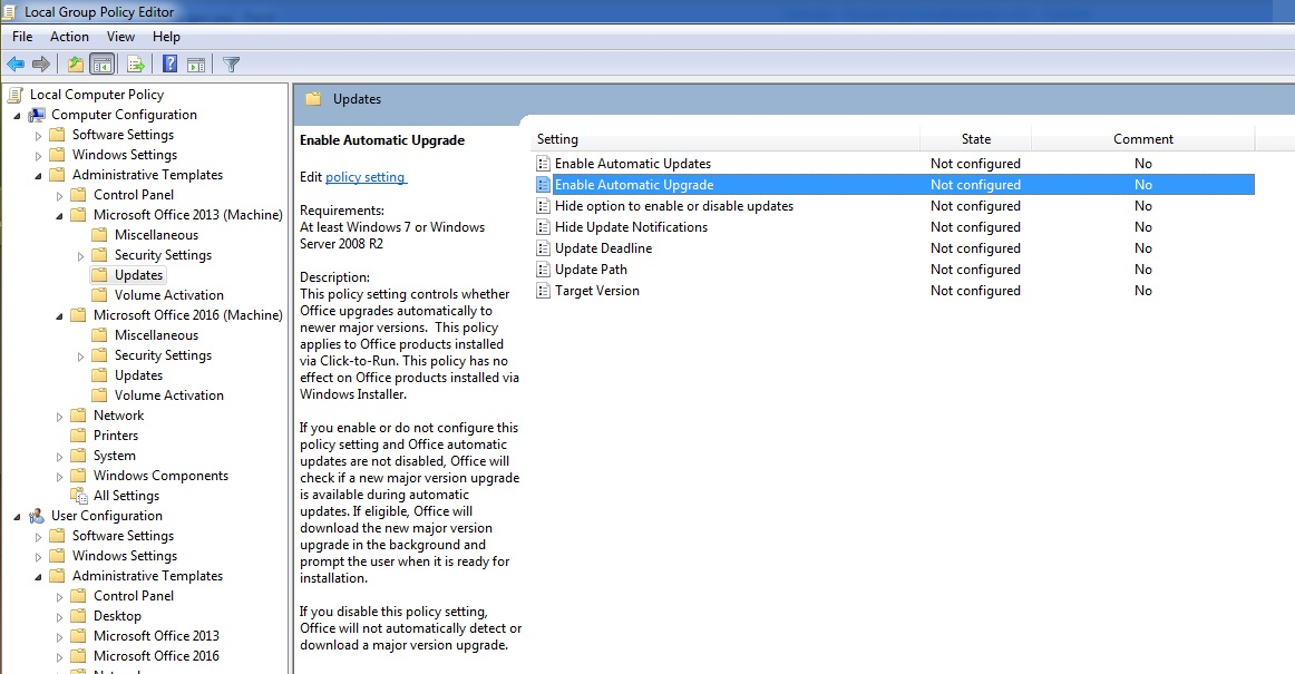 Office 2013 Admx Related Keywords & Suggestions - Office 2013 Admx