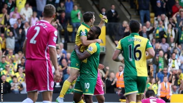 Norwich City 3 - 1 Bournemouth
