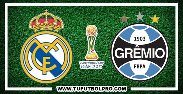 Ver Real Madrid vs Gremio EN VIVO Por Internet Hoy 16 de Diciembre 2017