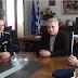 Επίσκεψη του Γενικού Περιφερειακού Αστυνομικού Διευθυντή Δυτικής Μακεδονίας στον Αντιπεριφερειάρχη Π.Ε. Φλώρινας