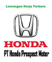 Lowongan Kerja Terbaru PT Honda Propect Motor