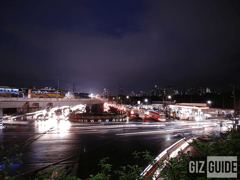 Wide angle + manual mode in lowlight