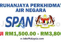 Suruhanjaya Perkhidmatan Air Negara SPAN - Gaji RM1,500 - RM3,800