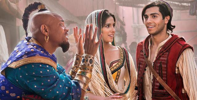 Disney Aladdin ungkap Tampilan Pertama Genie Biru