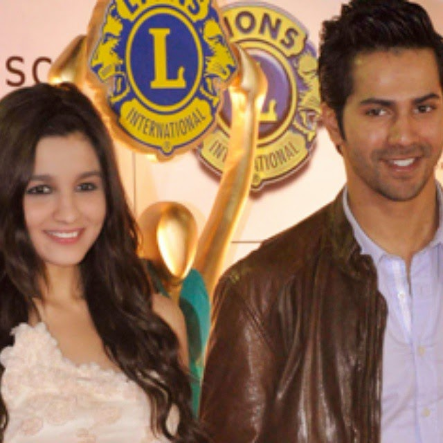 varun dhawan , varun d v n , alia bhatt , alia abha t , lions golden awards , bollywood ,, Alia Bhatt Hot Pics With Co-stars