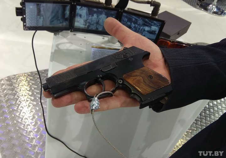 Ukrainian Military Pages У Білорусі розробили пістолет під набій 9х19 мм