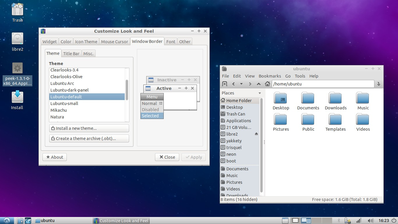 Ubuntu Buzz !: Lubuntu 18 04 and 18 10: Between LXDE and LXQt