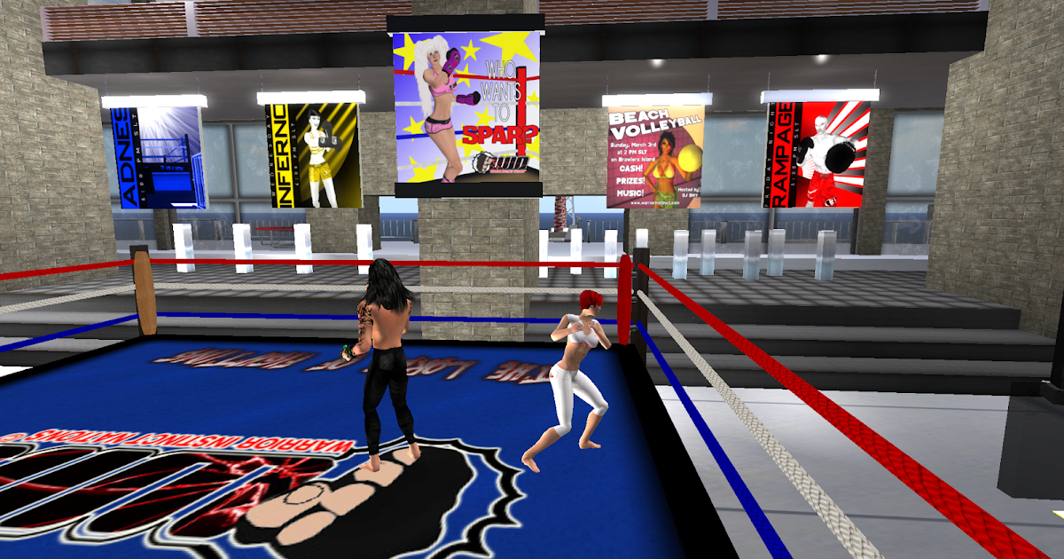 Boxing in Second Life: It's a real knockout ...