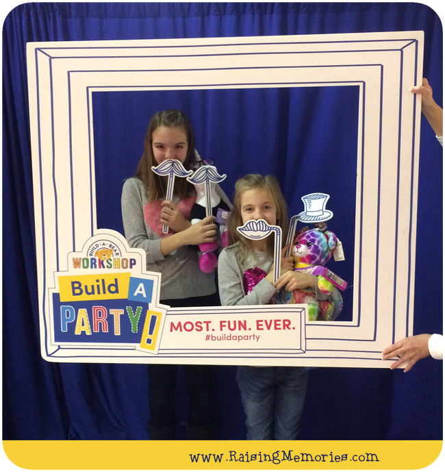 Birthday Party at Build A Bear