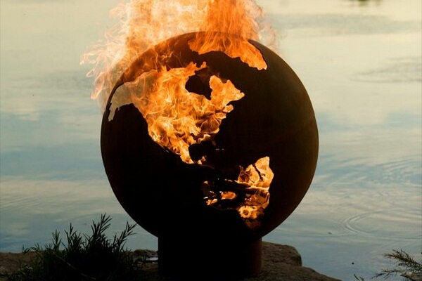 Third Rock Outdoor Fire Pit