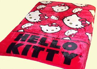 Gambar Selimut Hello Kitty 2