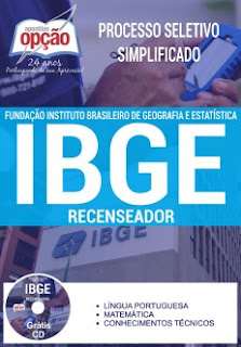apostila para recenseador do ibge 2017