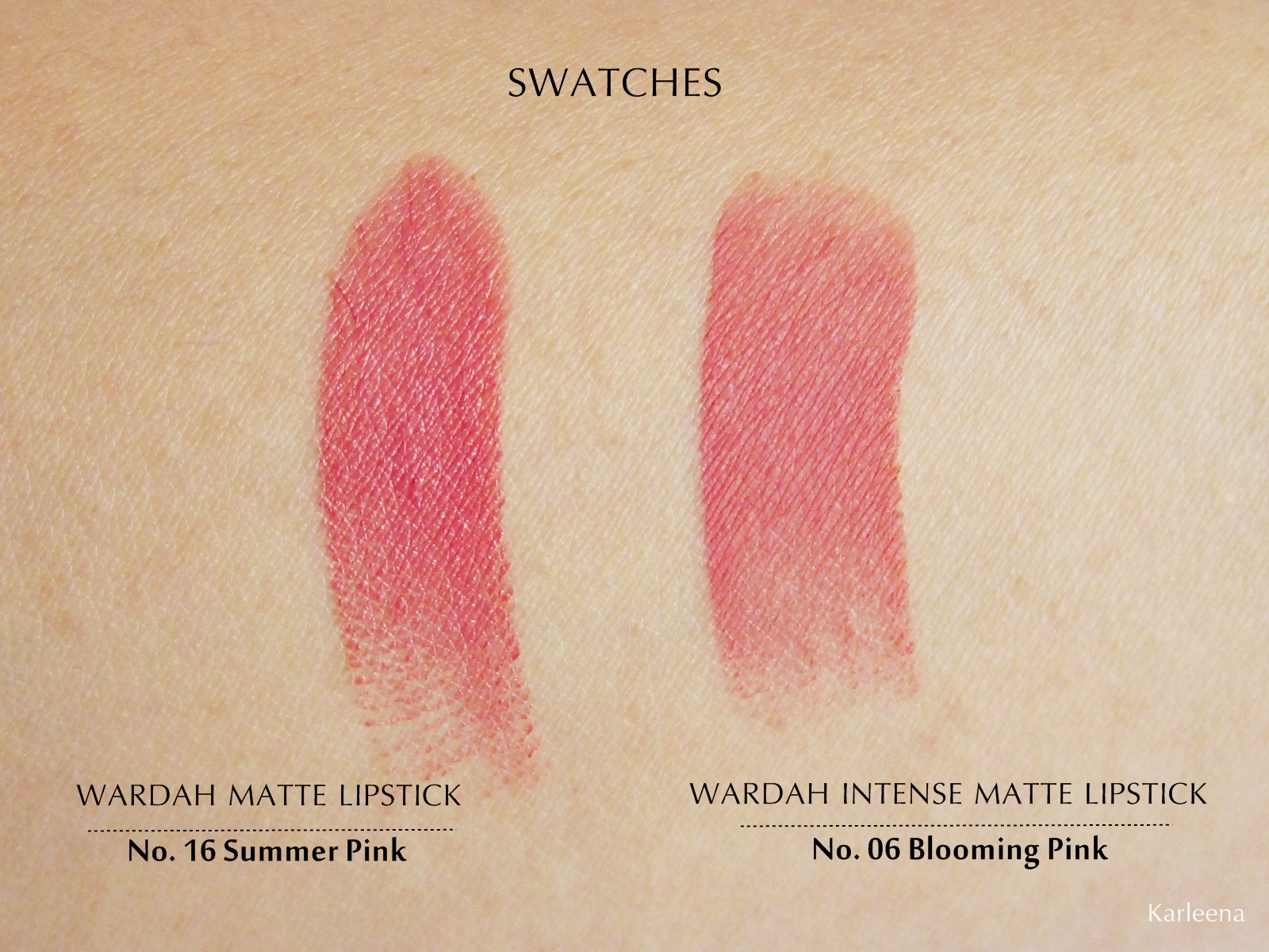 Wardah Intense Matte Lipstick 06 Blooming Pink 2 5gr Daftar Harga Passionate 07 25gr Source Bisa Kita Lihat Memang Warnanya Mirip