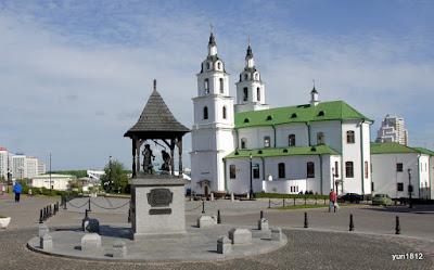 Свято-Духов Кафедральный Собор в Вехнем городе, Минск.