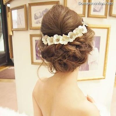 Imágenes de peinados de novia