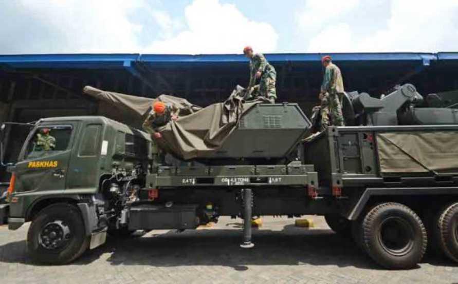 TNI AU akan membeli 11 unit  sistem pertahanan udara Oerlikon Skyshield
