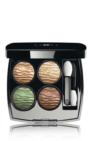 Chanel Empreinte du Desert eyeshadow quad for summer 2016