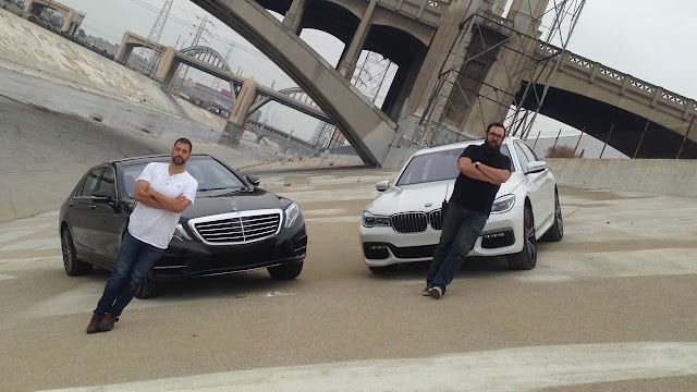 2016 BMW 750i vs. 2015 Mercedes-Benz S550 - test and video review