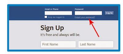 Facebook Password - How To Find My Facebook Password