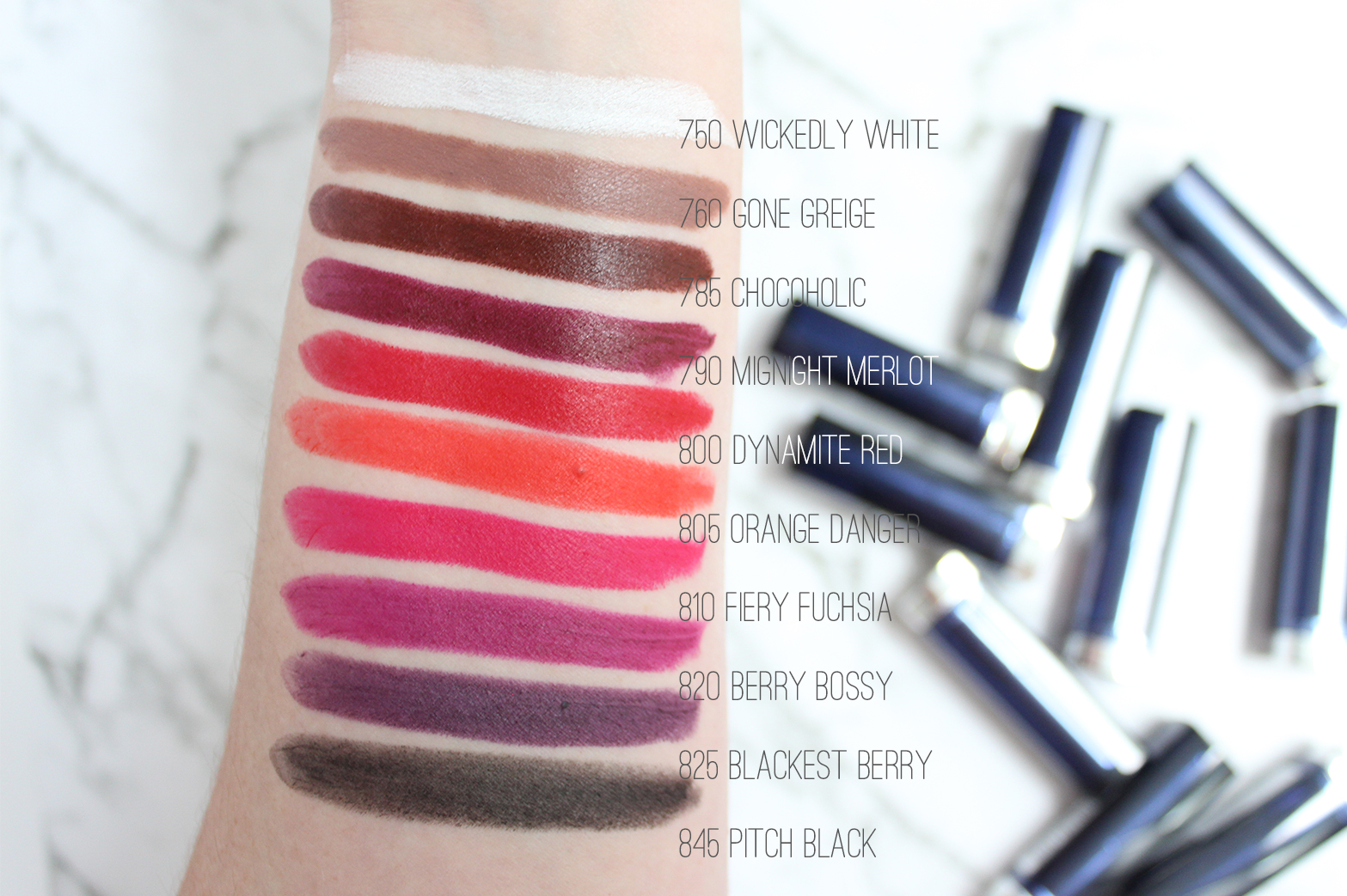 MAYBELLINE | The Loaded Bolds Lipsticks - Review + Swatches - CassandraMyee