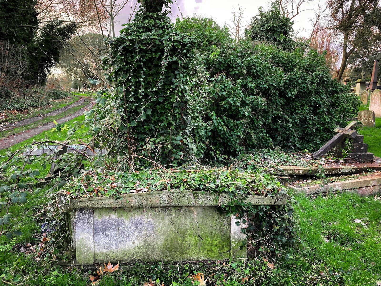 Lander's tomb.
