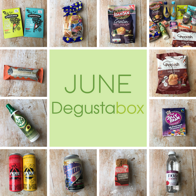 June 2018 Degustabox review