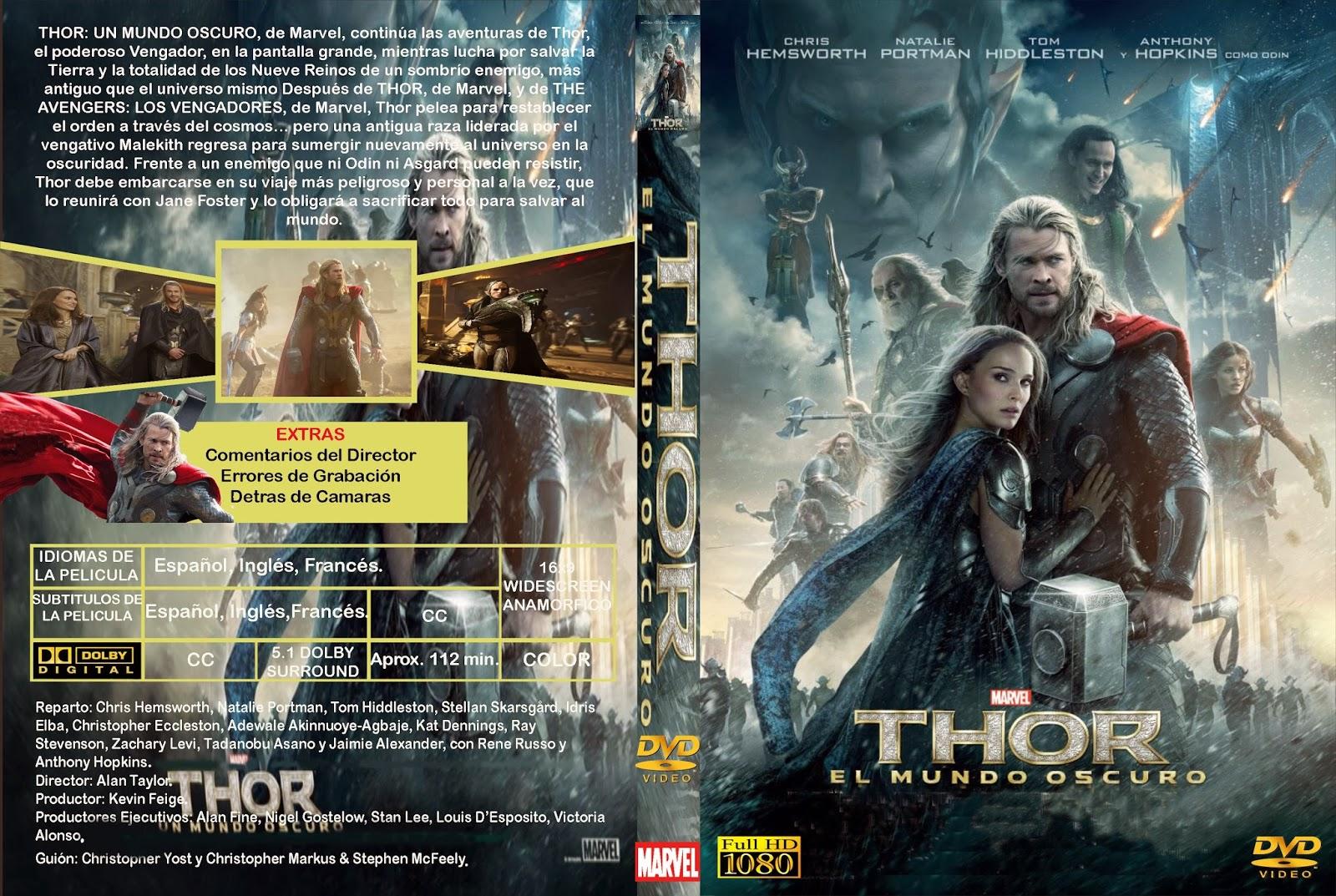 Thor 2 (2013) [Dvdrip Latino] [Zippyshare]