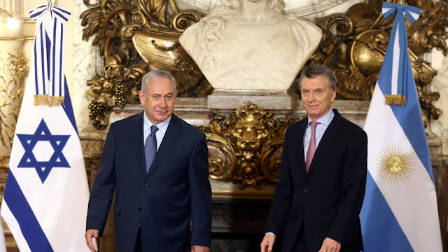 Medios: Netanyahu pide a Macri que interceda en la suspensión del partido Israel-Argentina