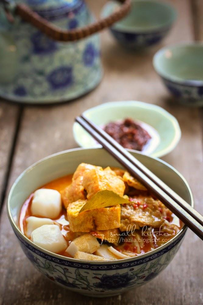 My Small Kitchen: Mee Kari Ala Cina